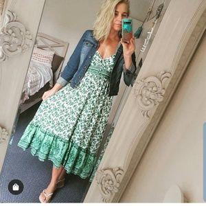 Wild Bella Midi Dress